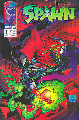 MINT Spawn #1 (1992) 1st Spawn / Al Simmons | Signed Todd McFarlane in Gold Ink