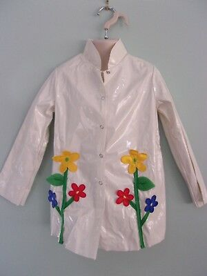 """""""It's Raining, It's Pouring"""" Floral Raincoat Lot of 5 - Small Child"""