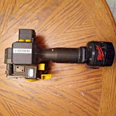 FROMM P321 Battery Powered Poly Plastic Strapping Tool Milwaukee Battery