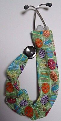 Easter Eggs and Squares Stethoscope Cover/Scope Coat