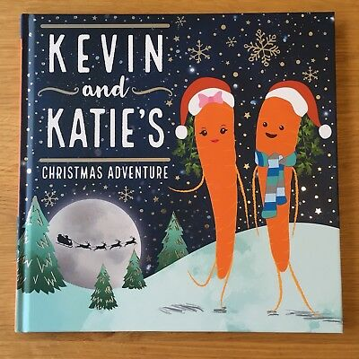 ALDI Kevin And Katie's Christmas Adventure Book 2017 Advert Carrot Free Postage