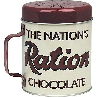 The Nation's Chocolate Ration / Schokolade / Kakao Schüttler, Retro Stil , NP$35
