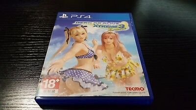 Dead or Alive Xtreme 3 Fortune Asia English/Chinese subtitle PS4 US Seller