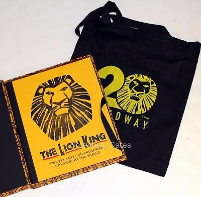 THE LION KING Tom Schumacher & 20th Anniversary Cast Signed & Numbered Book