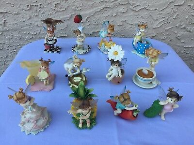My Little Kitchen Fairies ~ Nice Lot Of 12 ~ Very Good Condition ~ Lqqk