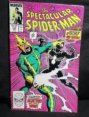 """""""The Spectacular Spider-Man"""" #135 NEW! Comic Book (1988, Marvel)"""