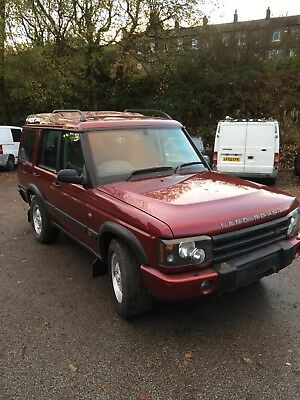 LAND ROVER DISCOVERY TD5 2004 # SPARES / REPAIRS # .runs and drives # good body