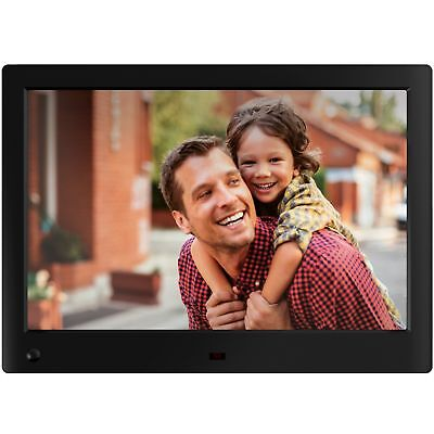 NIX Advance - 10 Inch Widescreen Digital Photo & HD Video (720p) Frame, With Mo