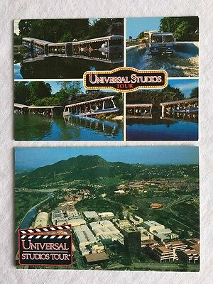 Lot of 7 Vintage 1980's Postcards Universal Studios 20th Anv NEW MINT CONDITION