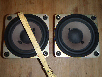 pair of SABA woofers 14cm for Saba Box 40G working worldw.ship