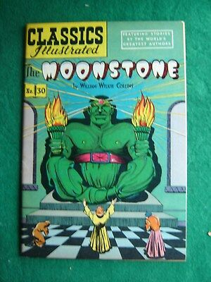 Classics Illustrated #30 The Moonstone HRN 60 FN+