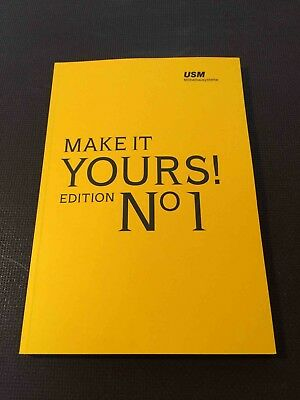 "USM Haller ""Make it Yours"" Edition No1 Möbel Deutsche Ausführung Storys Reagal"
