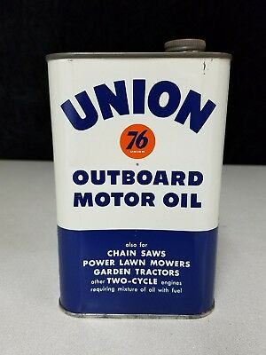 Union 76 Outboard Motor Oil Can