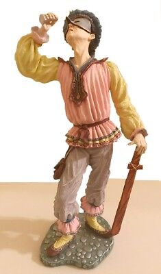 """Duncan Royale, """"Classic Clown"""", THOMASSI, 13"""", collectible"""