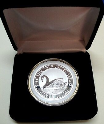 2017 1oz 9999 *Australian Silver Swan* Coin+Capsule -Lw Mintage-From Perth Mint