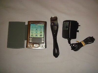 Palmone Tungsten E2 Pda With Ac Power Adaptor & Usb Cable In Good Condition