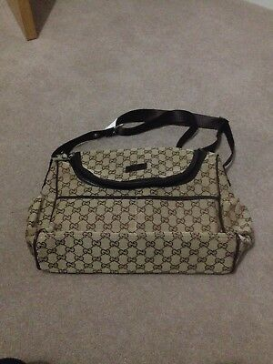 Gucci Baby Diaper changing Bag