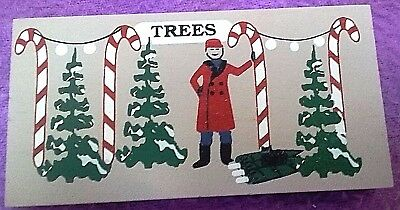 """CAT'S MEOW ACCESSORY ~ CHRISTMAS """"TREES"""" LOT ~ selling trees ~ unsigned"""