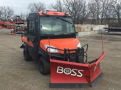 2014 Kubota RTV1100CWXL-A Utility Vehicle w/ Boss V-Plow **Used**