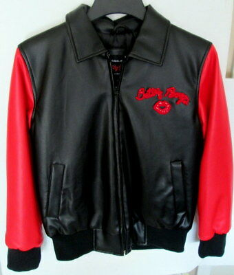 Betty Boop Leatherette Jacket Extra Small Excellent Condition