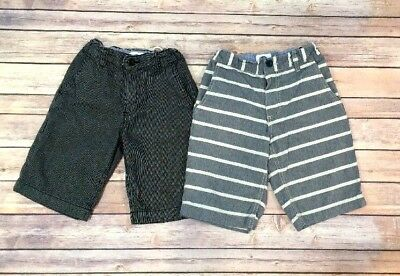 Lot of 2 Pairs of Boys Old Navy Brand Shorts Size 7-EUC