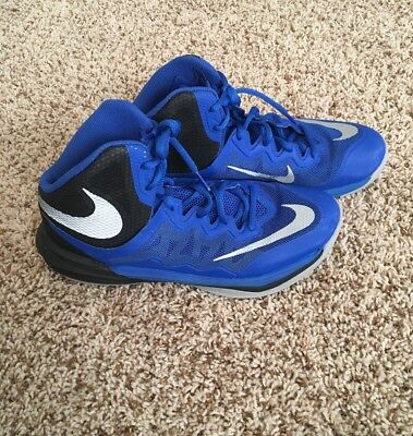 Men's Nike Prime Hype DF II Basketball Shoes Size 7.5 Blue