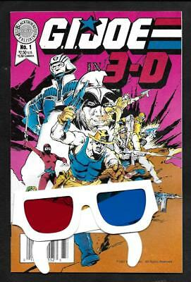 G.i. Joe 3D-Nm/mt- 9.6 To 9.8 --White Pages!-Blackthorne Pub- 1986