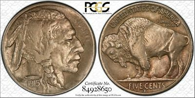 1915 S Buffalo Nickel PCGS AU53 - BARGAIN !!!