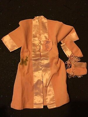 Vintage Antique Child's Robe/ Nightgown Set with Booties - NWT Beautiful!