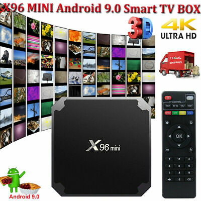 MXQ PRO Android 7.1.2 Quad Core 4K H.265 Smart TV BOX Media WIFI MINIPC 3D Films