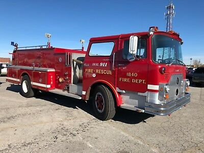 Fire Truck Mack Pumper 1978 Diesel Mint Collectable Rare Low Reserve