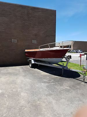Unfinished project fishing boat 4.7