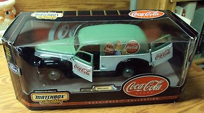 1999 Matchbox Collectibles COCA-COLA 1940 Ford SEDAN DELIVERY ~ 92138