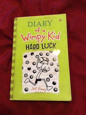 Diary Of A Wimpy Kid Book-Hard Luck  By Jeff Kinney