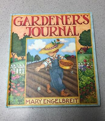 VINTAGE BOOK GARDNERS JOURNAL by MARY ENGELBREIT NEVER USED 1994 DIARY LOG TRACK