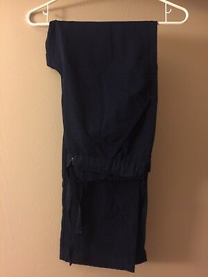 FIGS Men's Scrub Pants Without Tags - Size: M - Navy Blue
