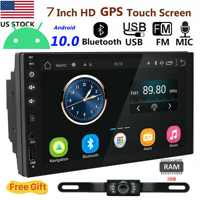 "7""2DIN Android 5.1 Car Stereo Quad Core 3G WIFI GPS Nav No DVD Player Auto Radio"