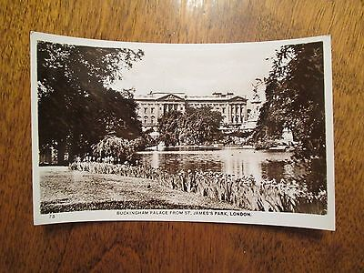 RPPC Buckingham Palace London England United Kingdom Foreign Postcard