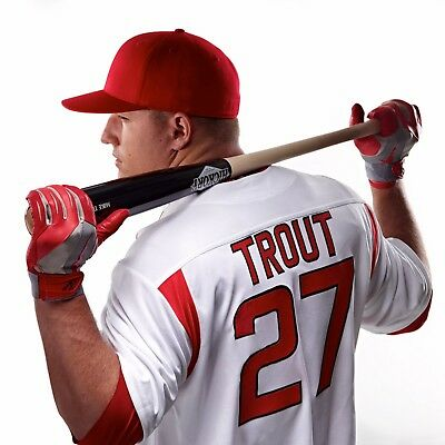 """Mike Trout poster wall art home decor photo print 24/"""" x 24/"""""""