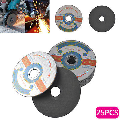 """115mm/4.5""""Thin Stainless Steel Grinding Cutting  Discs Cut-off Wheels 25pcs/Pack"""
