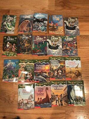 Kids Book Lot Of The Littles John Peterson And Magic Tree House Mary Osborne
