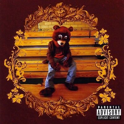 """Kanye West The College Dropout poster wall art home decor photo print 24"""" x 24"""""""