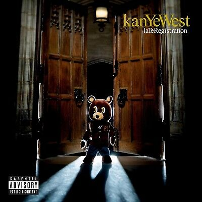 """Kanye West Late Registration poster wall art home decor photo print 24"""" x 24"""""""