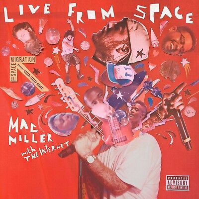 "Mac Miller Live from Space poster wall art home decor photo print 24x24"" inches"