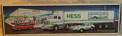 1992 Hess 18 Wheeler Truck And Racer
