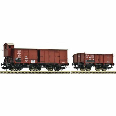 FLEISCHMANN -538003-2-Car Freight Set of the KPEV (HO SCALE)