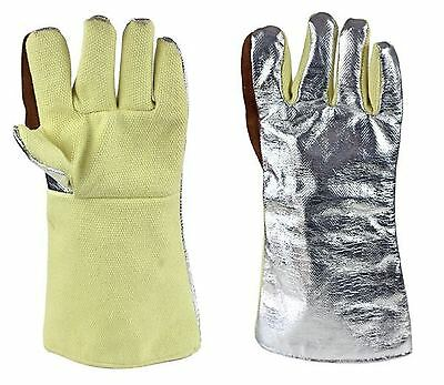 Heat Shield Gloves MagnaShield® Aluminised Kevlar® Gloves - Woven Kevlar® Palm