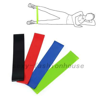 4PCS Resistance Bands Exercise Loop Strength Weight Training Fitness Sport