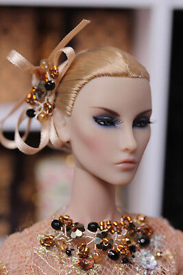 "OOAK jewelry set and hair ornament for Fashion Royalty, Poppy Parker, 12"" dolls"
