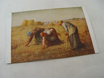 OTH568 - Louvre Postcard - The Gleaners by Millet